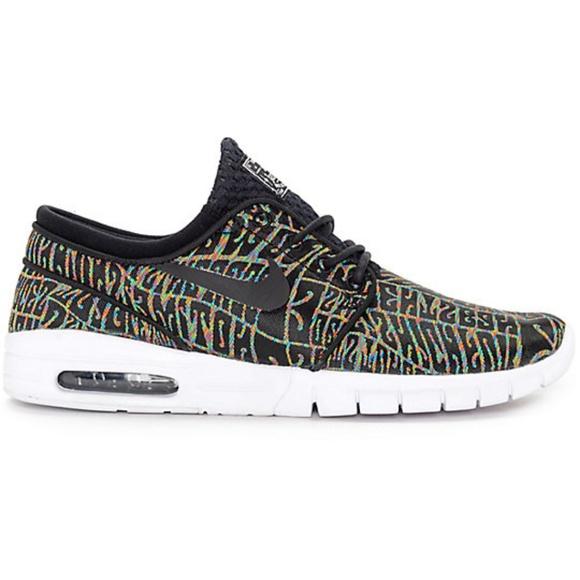 outlet store e0c7f 8353b Nike SB Stefan Janoski Max Premium Multicolor Shoe.  M 5b7b39a20cb5aa2a2ef87176